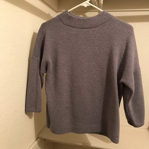 Love Culture Gray Sweater Small
